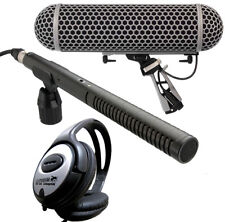 Rode NTG-2 Microphone Directionnel + Dirigeable Protection contre le Vent +