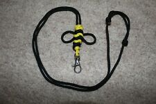 Adjustable Paracord BumbleBee Lanyard *Gift Him Her Child Present* Bee EDC Clasp