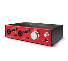 Focusrite Clarett 2pre Thunderbolt 2 Audio Interface Plug-ins