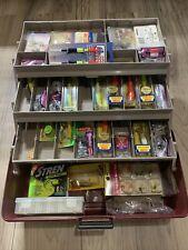 Flambeau Tackle Box Full Of Crankbait-Diving Type-Trolling-Spinn Lures-Box Lot