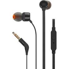 JBL Harman T210 In-Ear Earphones with Microphone  New Sealed ( Black )