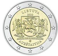 """2 Euro 2020 Litauen """"Ethnographische Regionen Oberlitauen"""""""