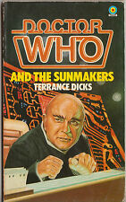 Doctor Who and the Sunmakers. Superb story! 1st edn, GC Target books. Fundraiser
