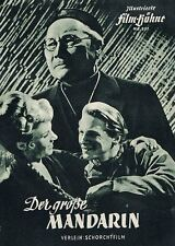 DVD:  DER GROSSE MANDARIN (1949) * with switchable English subtitles *
