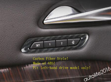 Accessories Seat Adjustment Button Switch Cover Trims ABS For Cadillac XT4 2019