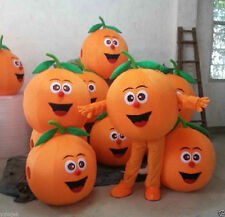 Fruit orange Mascot Costume Unisex Adult Size Fancy Dress