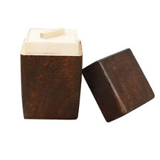 Japanese Style Wooden Tea Caddy Box Multi-Purpose Kitchen Storage Container