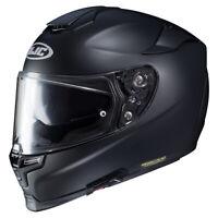 HJC RPHA 70 Matt Black Motorcycle Motorbike Full Face Helmet - Free Pinlock
