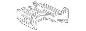 Genuine GM A/C Evaporator Core Case 52461802