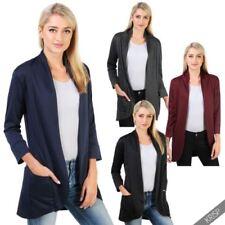 Polyester Coats & Jackets Waterfall Blazer for Women