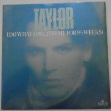 """JOHN TAYLOR - I Do What I Do ~ 7"""" Single PS"""