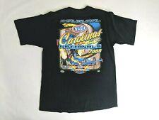 NHRA Drag Racing Carolina Nationals Mens S/S T-Shirt Sz Large Black 2008
