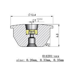 20 pcs Waterjet Orifice 014201-13 0.33mm Ruby Orifice