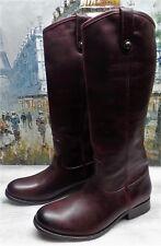 Frye 'Melissa Button' Boot in Bordeaux - Size 7B - $368