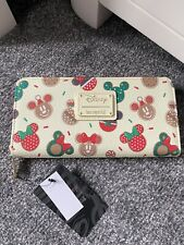 More details for loungefly christmas cookies purse / wallet bnwt