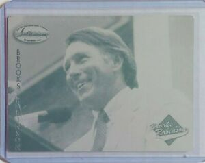 1/1 BROOKS ROBINSON 1994 TED WILLIAMS PRINTING PLATE #2 BALTIMORE ORIOLES 1 OF 1