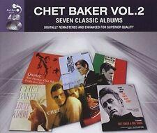 CHET BAKER (TRUMPET/VOCALS/COMPOSER) - 7 CLASSIC ALBUMS, VOL. 2 NEW CD