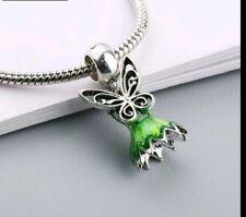 872921c0e Charm Tinkerbell Fairy Bead Charm Fits European Charm Bracelets birthday  CH150