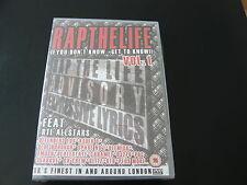 RAP THE LIFE VOL1...UK RAP GRIME URBAN DVD 2005...ASHER D GIGGS TRIGGER...SEALED