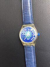 Swatch Tone In Blue Slk 100 1992  Vintage