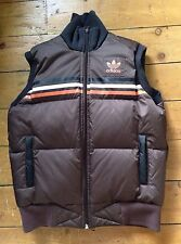 Adidas Original Women's Brown Gilet Body warmer Size UK 12