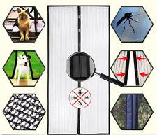 Mosquito Door Net Mesh Screen Bug Fly Pet Patio Hands Free Magnetic Magic Closer