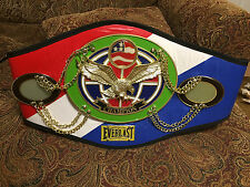 Everlast Championship Replica Boxing Belt Simulated Leather Fur Lining Excellent