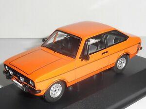 """Vanguards VA12617  """"Ford Escort Mk2 1600 Sport - Signal Orange.  Ltd  ? of 1300"""