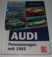 Typen Kompass Audi 60 75 80 Super 90 100 Coupe S 50 200 Quattro Urquattro V8 S6!