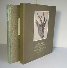 La Caza en la Historia del Dibujo Occidental 1987 Marques Western Hunting Art HC