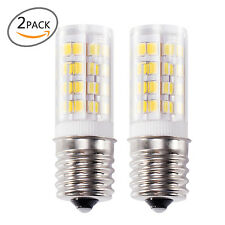 2x  E17 LED Bulb Microwave Oven Light Non-Dimmable 4 Watt Natural White 6000K