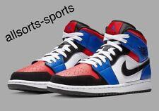 "Nike Air Jordan 1 Mid ""Top 3"" | UK 16 EU 51.5 US 17 35CM | 554724-124"