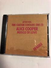 Alice Cooper : Muscle of Love CD ORIGINAL GERMAN PRESSING