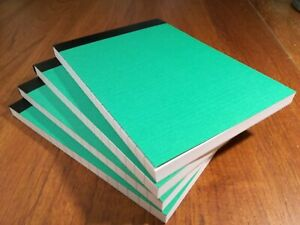 4 NOTEBOOK A6 80 SHEETS LINED RULED BOTH SIDES 80 GSM PAPER PAD JOTTER NOTEPAD
