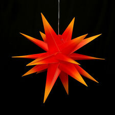 Falkensteiner Adventsstern Faltstern Gartenstern LED 18 Spitzen 60 cm Außenstern
