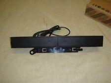 DELL AX510 MULTIMEDIA SPEAKER BAR FOR DELL LCD MONITORS -READ!!