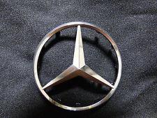 Large Mercedes-Benz OEM Factory Driver/ Steering Airbag Silver Emblem/Badge/Logo