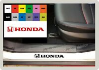 For HONDA - 4 x Inner Door Sill CAR DECAL STICKER ADHESIVE  Civic - 145mm long