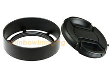 40.5mm Vented Meal Screw In Lens Hood for Leica Canon Panasonic Olympus