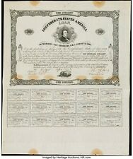 Confederate CSA One Hundred Dollar Bond