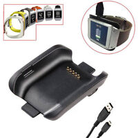 Charger Dock Charging Cradle For Samsung Galaxy Gear SM-V700 Smart Watch +Cable