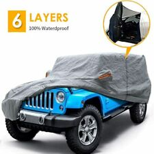 Big Ant Car Cover For Jeep Wrangler Cjyj Tj Amp Jk 4 Door All Weather Protection Fits Jeep