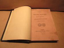 1848 Notice Des Monnaies Francaises Composant La Collection De M.J. Rousseau
