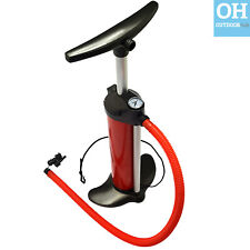 Bravo 110 Hand Pump Stirrup Single Double Action Inflatable Boat Kayak Air Bed