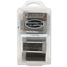 Stampendous Embossing Powder Aperture 5 Pcs. Emboss Heat Set Create Beauty!