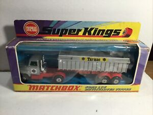 Matchbox Superkings K18 Ford LTS Articulated Tipper Near Mint In box