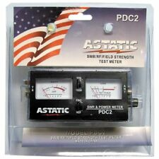 ASTATIC - PDC2 100 WATT SWR, RF POWER & FIELD STRENGTH METER