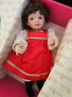 """15"""" Natasha Porcelain doll by Kathy Barry Hippensteel, Knowles 1989"""