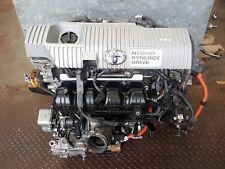 2014 TOYOTA AURIS 1.8 PETROL HYBRID AUTOMATIC BARE ENGINE CODE 2ZR