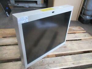 TFT Industrie Monitor 20 Zoll strahlungsarm Metallgehäuse mit Kunststoffscheibe